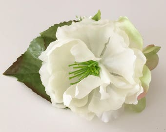 Flower arrangement hair clip