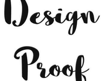 Design Proof Draft Add On