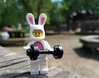 Lego Photography - Workout Bunny