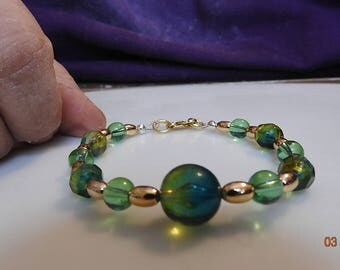 Vintage Jewelry artisan revived bracelet