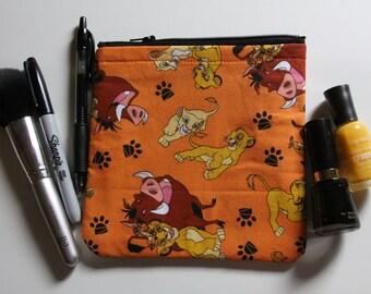 Lion King Disney Makeup Bag