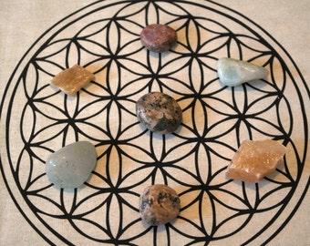 Caribbean Shores Crystal Meditation Set