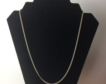 Vintage Silver colored Chain Necklace