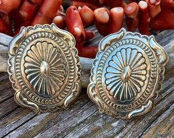 Sterling Silver Earrings | Harold J Earrings | Navajo Jewelry | Handmade Native American Jewelry | Navajo Earrings | Bohemian Jewelry | Boho