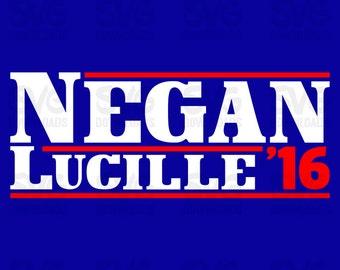 Negan -n- Lucille Campaign Design