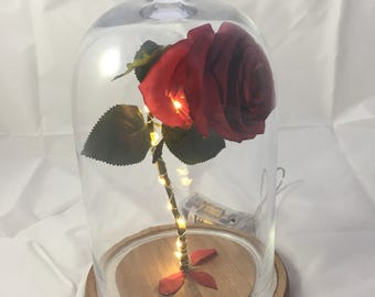 Enchanted Rose with custom date or memory