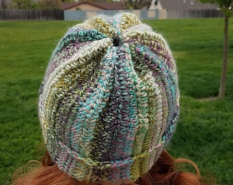 Spring colors 2 way hat