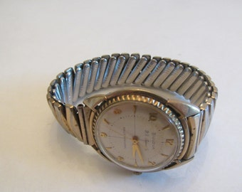 Vintage Bulova 23 Jewels Self Winding Man's Watch - Works!