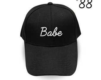 BABE Baseball Cap Fashion Hipster Embroidery Hat Pinterest Instagram Tumblr