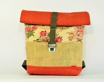 ARPI large backpack / Upcycling bagpack