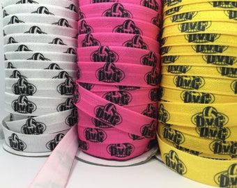 350+ Custom Printed Hair Ties, Fundraising, Advertising, Marketing, Logo Hair Ties, Handmade Hair Ties, Wholesale, Ponytail Holders