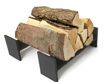I Beam Firewood Holder