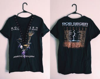 Bob Seger Lace Up Tour Tee