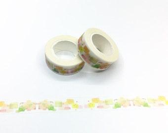 Watercolor Blocks Washi Tape - Watercolor Series