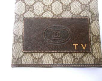 Gucci Italy Rare Television Book Cover c 1980s
