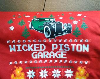 Wicked Piston Garage Sweatshirt