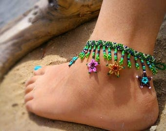 Beaded anklets,anklets,beaded,beaded Jewerly, Jewerly, anklets
