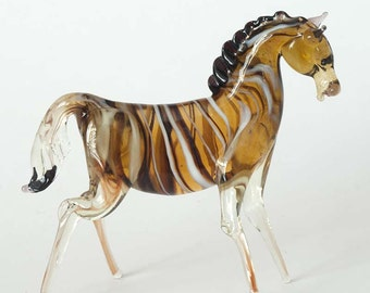 "The figurine from a glass ""Zebra"""