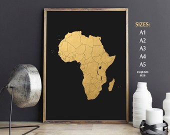 African Wall Decor african wall art | etsy