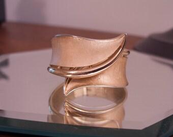 Crown Trifari Hinged Bracelet