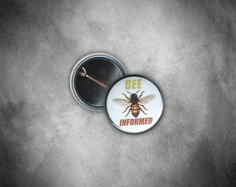 Bee Informed Button