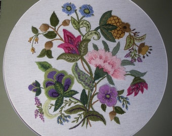 Masquerade - Crewel Embroidery kit from Needlewoman's Studio