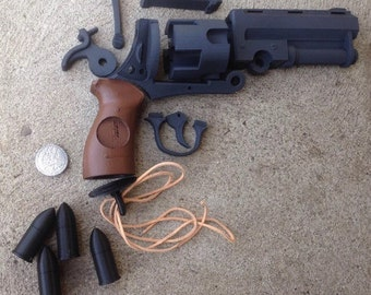 HUGE Hellboy Good Samaritan Revolver Gun Kit DIY Biggest Revolver Available Sideshow Size