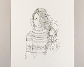Woman (A4 size)