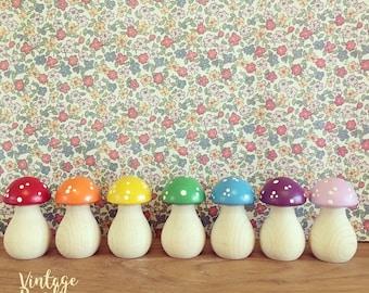 Rainbow Toadstools