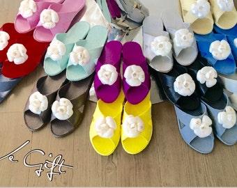 Chanel style indoor & Outdoor slippers
