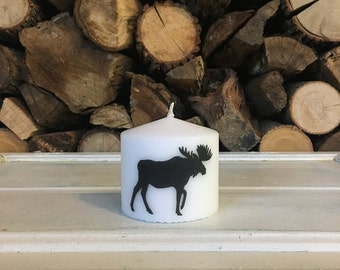 Moose Candle