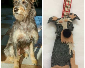 Custom Handmade Dog Ornament **ALL BREEDS**