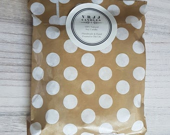 Amber Noir Scented Soy Wax Brittle