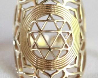 Shakti Yantra Ring - Durga