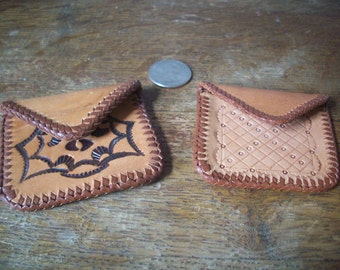 Leather Pouches (Small)