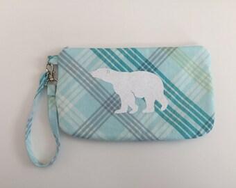 Polar Bear Wristlet