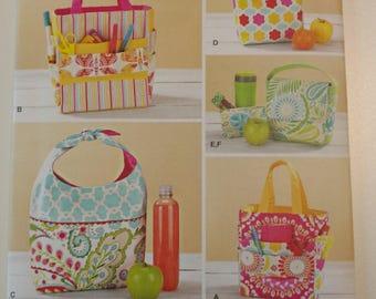 Simplicity Pattern 1385 Art Supplies Bag, Lunch Bag, Snack Bag