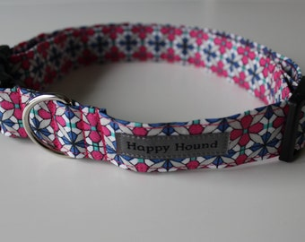 Lucy Dog Collar - Pink