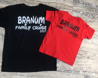 Family Cruise Shirts - Cruise Tees - Family Vacation - Cruise Tshirt - Vacation Shirts- Personalized Family Shirts