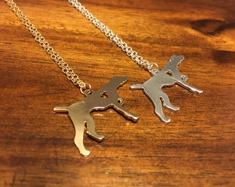 German Shorthaired Pointer Necklace - German Shorthaired Pointer Pendant - German Shorthaired Pointer Jewelry - German Shorthaired Pointer