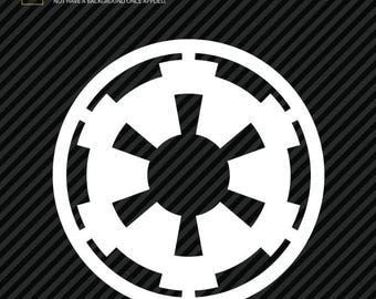Star Wars Galactic Empire Logo Sticker Decal (2)