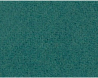 Teal Wool Fabric by Moda
