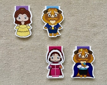 Magnetic Bookmarks - Beauty and Prince