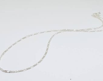 Chain Necklace, Solid Sterling Silver Chain,  Simple Chain, Dainty Chain, Sterling Silver Jewelry, Finished Chain