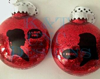 Han leia ornament  Etsy