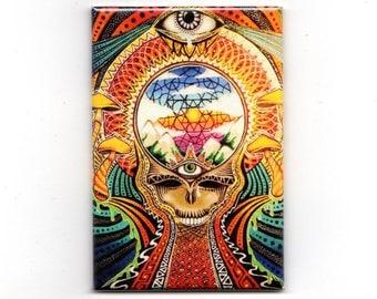 Grateful Dead Magnet