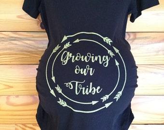 Maternity T-Shirt, Short Sleeve Tee