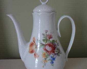 Large Teapot Porcelain Made in Romania
