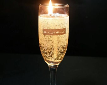 Champaign cocktail candle