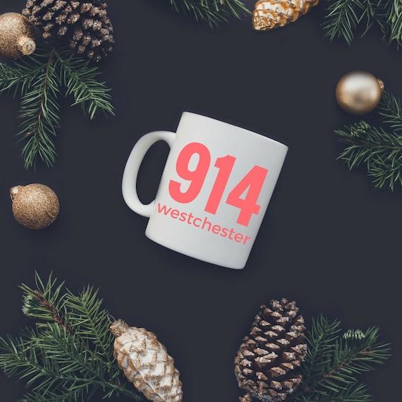"16 oz ""Area Code"" Coffee Mug"